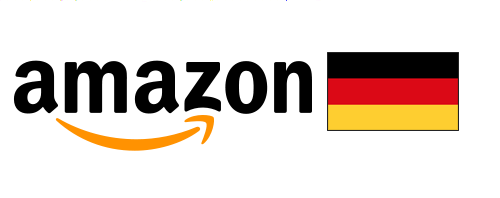 amazon with German flag
